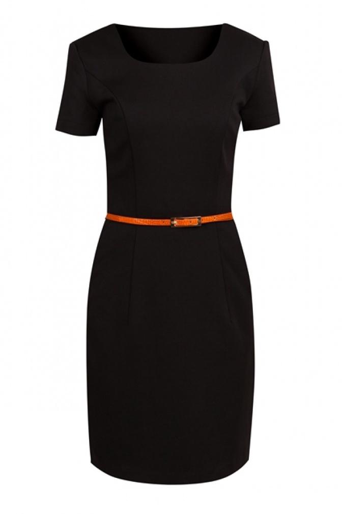 Маленькое чёрное платье футляр